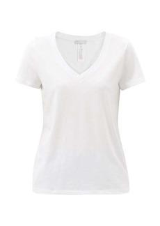 Hanro Sleep & Lounge V-neck cotton-blend T-shirt