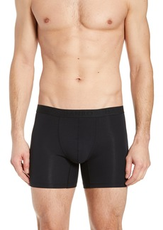 Hanro Stretch Cotton Essentials Long-Leg Boxer Briefs