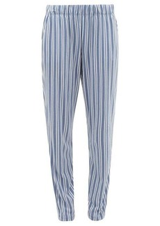 Hanro Striped cotton-blend jersey pyjama trousers