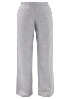 Hanro Urban Casuals linen-blend wide-leg trousers
