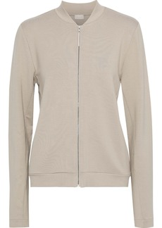 Hanro Woman Balance French-terry Track Jacket Neutral