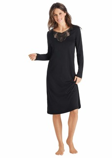 HANRO Women's Adina Long Sleeve Gown