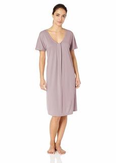 HANRO Women's Astrid Short Sleeve Gown 77871
