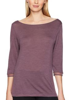 HANRO Women's Calla 3/4 Sleeve Shirt