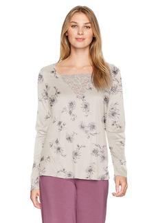 HANRO Women's Camille Long Sleeve Shirt
