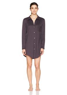 HANRO Women's Cotton Deluxe Boyfriend Sleepshirt