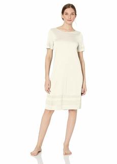 HANRO Women's Enna Short Sleeve Gown