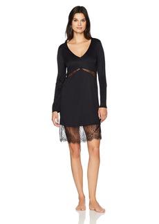 HANRO Women's Estelle Long Sleeve Lace Gown