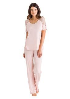 HANRO Women's Fleur Short Sleeve Pajama 76405