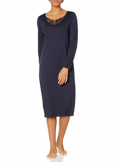 HANRO Women's Flora Long Sleeve Gown