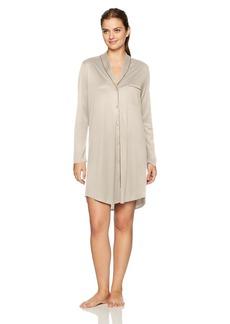 HANRO Women's Florentine Long Sleeve Gown