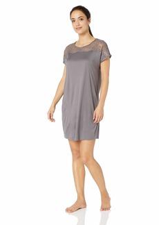 HANRO Women's Greta Short Sleeve Gown 76393
