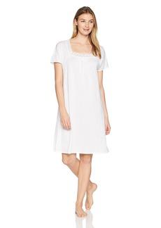 HANRO Women's Hazel Short Sleeve Gown