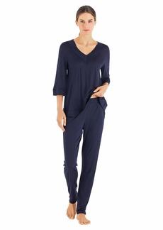 HANRO Women's Hella 3/4 Sleeve Shirt