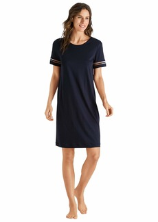 HANRO Women's Ilona Short Sleeve Gown