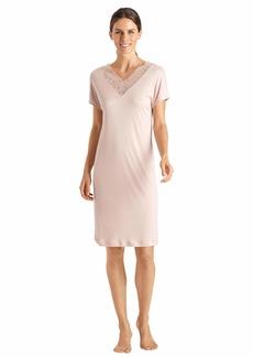 HANRO Women's Imani Short Sleeve Gown