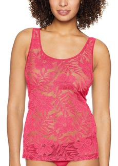 HANRO Women's Lace Illusion Tank Top
