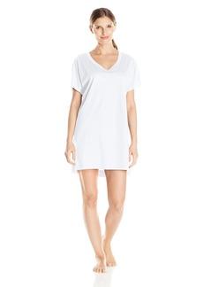 Hanro Women's Laura Bigshirt Sleepwear -white