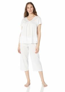 HANRO Women's Lotta Short Sleeve Crop Pajama 76608