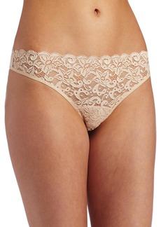 Hanro Womens Luxury Moments Thong Panty