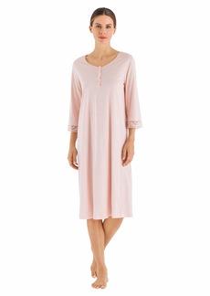 HANRO Women's Malene 3/4 Sleeve Gown