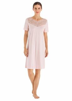 HANRO Women's Malene Short Sleeve Gown