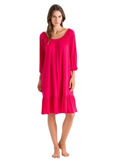 HANRO Women's Malva 3/4 Sleeve Gown