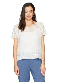 HANRO Women's Mathilde Short Sleeve Shirt