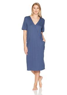HANRO Women's Mona Short Sleeve Gown