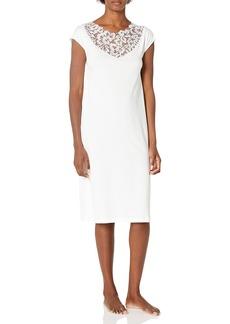 HANRO Women's Najuma Short Sleeve Gown