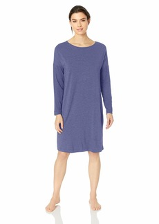 HANRO Women's Natural Elegance Long Sleeve Gown