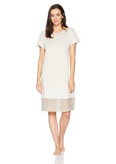 HANRO Women's Paula Short Sleeve Gown