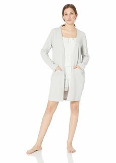 HANRO Women's Pure Comfort Cardigan zinc
