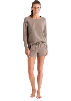 HANRO Women's Pure Comfort Long Sleeve Sweatshirt