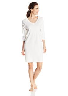 HANRO Women's Pure Essence 3/4 Sleeve Gown