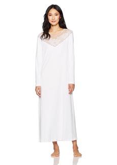 HANRO Women's Rosalie Sleeve Long Gown