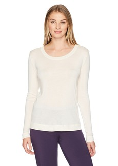 HANRO Women's Silk Cashmere Long Sleeve Shirt