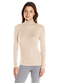 HANRO Women's Silk Cashmere Turtleneck Shirt