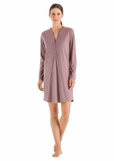 HANRO Women's Sleep and Lounge Long Sleeve Gown