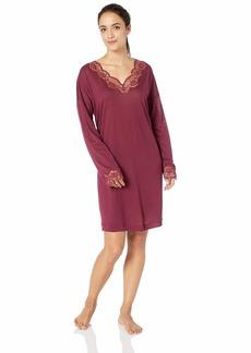 HANRO Women's Uptown Long Sleeve Gown 77839