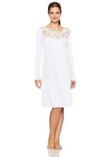 HANRO Women's Violetta Long Sleeve Gown