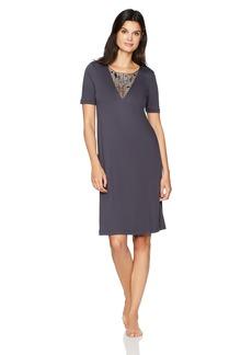 HANRO Women's Violetta Short Sleeve Gown