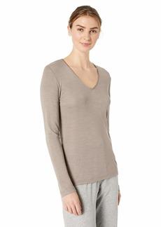 HANRO Women's Woolen Silk Long Sleeve Shirt