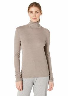 HANRO Women's Woolen Silk Turtleneck Shirt