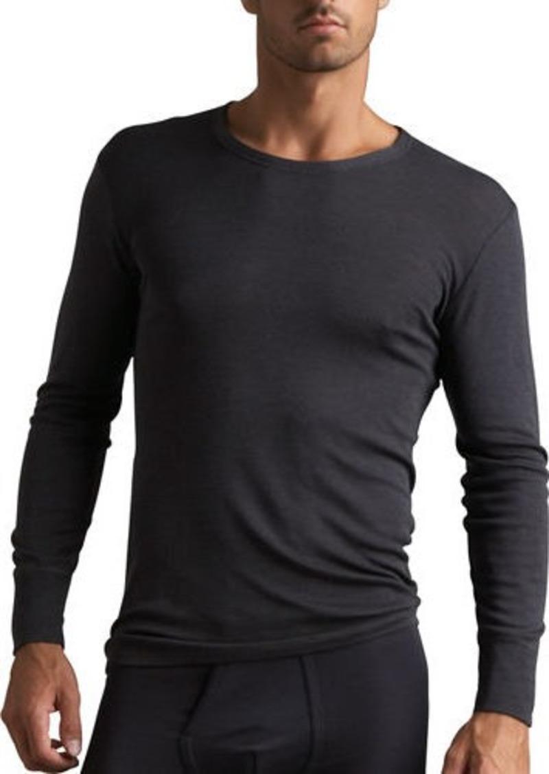 Hanro Woolen Silk Thermal Shirt