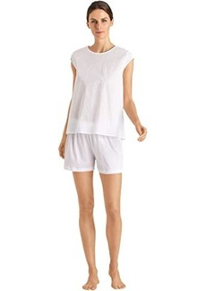 Hanro Kiah Short Sleeve Short Pajama Set