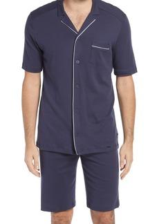 Men's Hanro Night & Day Knit Short Pajamas