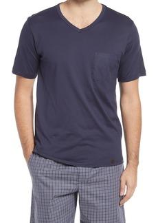 Men's Hanro Night & Day V-Neck Sleep Shirt