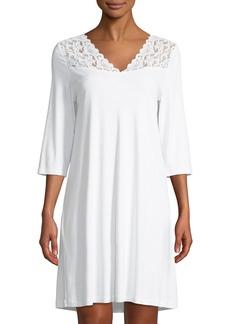 Hanro Moments 3/4 Sleeve Nightgown