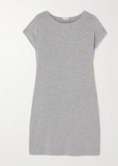 Hanro Natural Elegance Mélange Stretch-jersey Nightdress